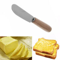Sandwich Spreader Butter Cheese Slicer Jam Knife Wooden Handle Kitchen Tool