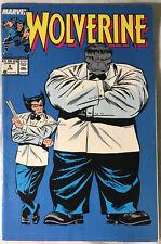 Marvel Wolverine 8 1989 Grey Hulk Cover Fine!!!
