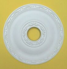 Ceiling Rose - Strong Lightweight Resin - (Not Polystyrene) Size 40.5 CM 'JULY'