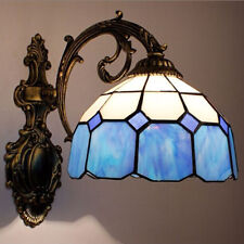 Tiffany Style Stained Glass Shade Wall Light Sconce Wall Lamp Indoor Decor Light