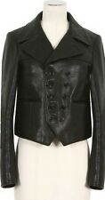 Saint Laurent YSL (Hedi Slimane) Leather Smoking Spencer Jacket  FR 34 - $4490