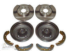 VAUXHALL CORSA C 1.2 16V SXi REAR BRAKE DRUMS SHOES BEARINGS FRONT DISCS & PADS