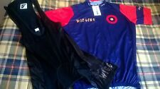 maillot y culotte bradley wiggins 3xl ciclismo xxxl cycling 3xl wiggins