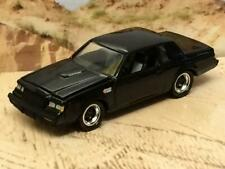 1987 87 Buick Regal GN Grand National 3.8 SFI Turbo 1/64 Scale Limited Edit J8