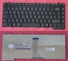 Clavier Qwertz Swiss TOSHIBA A300 NSK-TAE00 9J.N9082.E00  6037B0027806 Noir