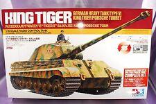 TAMIYA 1/16 RC GERMAN HEAVY TANK TypeⅣ KING TIGER Porsche Turret #56008 NEW