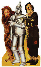 LION TINMAN & SCARECROW (WIZARD OF OZ) LIFE SIZE STAND UP FIGURE FANTASY FILM US