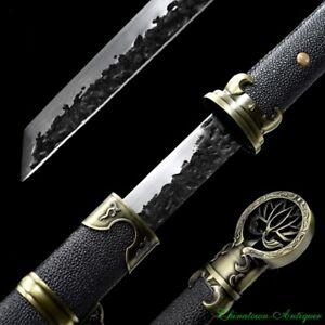 Mad Detective Di-renjie Pei-donglai Sabre Sword Steel Blade Full Tang Sharp#2383