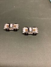 More details for two motorised bogies for trams, possibly me034d16 ew or similar. new