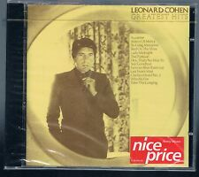 LEONARD COHEN GREATEST HITS CD SIGILLATO!!!!