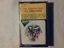 TEMPTATIONS All directions mc cassette k7 ITALY RARISSIMA COME NUOVA LIKE NEW!!!