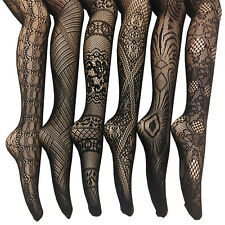Women's Fishnet Stocking Tights Pantyhose Regular & Plus Sizes 1008 (Pack of 6)