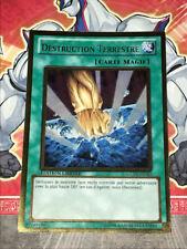 Carte YU GI OH DESTRUCTION TERRESTRE GLD3-FR042