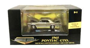 Ertl American Muscle 1/64 1965 Pontiac GTO diecast model in case NIB