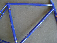 New NOS 51.5cm Tange #2 double butted CroMoly road bicycle lugged frame & fork