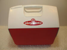 IGLOO Playmate Red/White Cooler Top Push Button Lid  15""