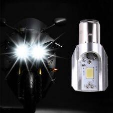 New H6 BA20D DC 12V-85V 12W COB LED Motorcycle Hi/Lo Beam Headlight Bulb White