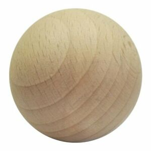 10 Holzkugeln Buche 20  25  oder 30 mm   ungebohrt  fein geschliffen unbehandelt