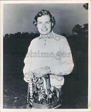 Woman Golf Champion Betsy Rawls Press Photo