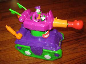 Fisher Price Imaginext retired Joker tank complete