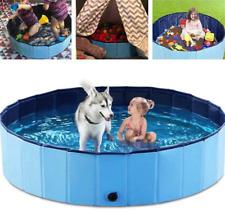 Faltbar Hundepool Kinder pool Planschbecken Schwimmbecken Hundebad Doggy Pool