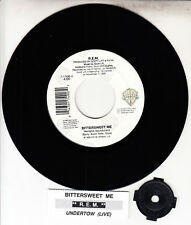 """R.E.M. (REM)  Bittersweet Me 7"""" 45 vinyl record + juke box title strip NEW RARE!"""