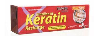 Brazilian Keratin Recharge Recarga de Queratina, Dry Damaged Hair Treatment, 80g