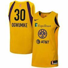 NWT Nike WNBA Basketball Jersey Nneka Ogwumike 30 Los Angeles Sparks Women's XS