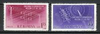 Romania 1958 MNH Mi 1699-1700 Sc 1207-1208 Telecommunications Conference **