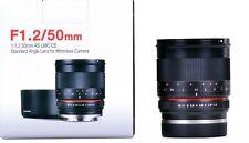 Samyang 50mm f1.2 AS UMC CS Sony E Mount-Ex-Demo