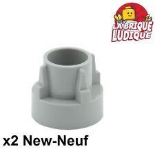 Lego technic - 2x driving ring gear boite vitesse gris/light b gray 32187 NEUF
