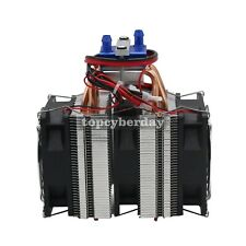 Thermoelectric Cooler Water Chiller DIY Cooling System for 40L Fish Tank DC 12V