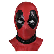 Cosplay X-Men Deadpool Mask Latex Full Face Hood Halloween Party Helmet New