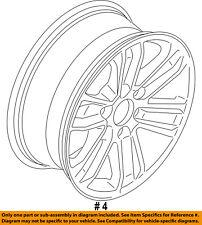 FORD OEM 15-16 F-150-Wheel-Alloy Aluminum FL3Z1007A