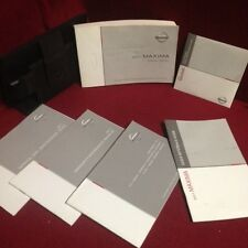 2011 Nissan Maxima Owners Manual set w/ warranty & reference guide and case