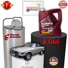 KIT FILTRO CAMBIO AUTOMATICO E OLIO MERCEDES R107 380 SL 150KW 1980 -> 1985 1004