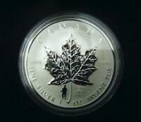 2004 Canada $5 1oz D-Day Privy Mark Silver Maple Leaf Coin Set .9999 Fine