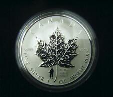 2004 Canada $5 1oz D-Day Privy Mark Silver Maple Leaf Coin Set .9999 Fine