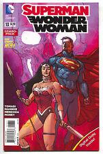 Superman Wonder Woman 13 DC 2015 NM- New 52 Combo Pack Variant Dough Mahnke