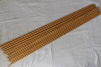 "33"" Wood Arrows Shaft Spine 500 Archery Recurve Bow Hunting Dia 8.5mm DIY Arrows"