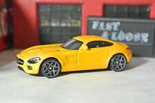 Hot Wheels '15 Mercedes AMG GT - Yellow - Loose - 1:64