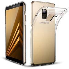 Funda de Silicona Transparente Delgado Carcasa para Samsung Galaxy A8 Plus