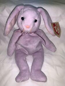 Ty Beanie Babies Floppity Rabbit PVC Pellets Tag Variations