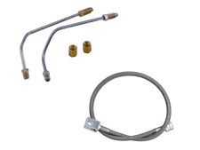 "Jeep Wrangler YJ Brake Line Kit FRONT AND REAR 6"" Lifts 1987-1995 FREE SHIPPING"