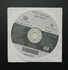HP PSC 1400 Series CD-ROM Disc Mac Apple Macintosh Printer Software - NEW/SEALED