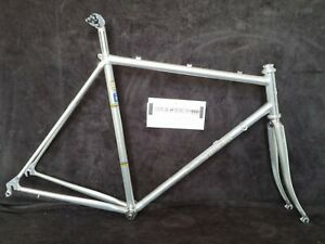 Vitus 979 first version 1979! Frame and fork 52/54 silver vintage New condition