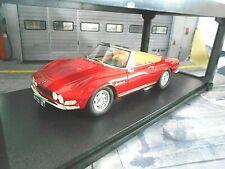 FIAT Dino 2000 Spider Spyder rot red 1966 Resin CULT Scale RAR 1:18