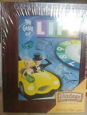 NEW The Game of LIFE: Vintage Game Collection Wooden Box-Milton Bradley/Hasbro
