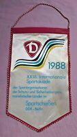 Orig. Wimpel Spartakiade Sportschießen Mfs 1988 Dynamo Berlin Stasi DDR NVA GST