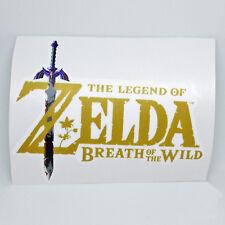 Zelda Breath of the Wild Logo Sticker Vinyl Decal - NO Nintendo Video Game Link